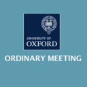 Logo for Ordinary Meeting of Oxford University Council